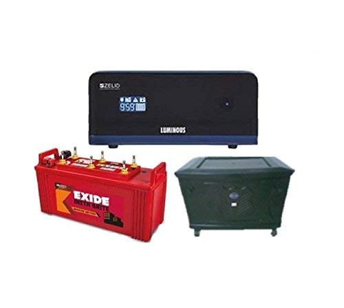 Exide Technologies 150 Ah Battery with Zelio 1100 Inverter (Multicolour) 2021 June Zelio, Home Ups Provides Grid Like Supply In Case Of Power Failure. Packed With Various Advanced Features, The Zelio Range Is The Ideal Choice For A Reliable Power Back- Up Solution Within The Urban Space Home About Exide Products Know Your Battery Online Store Network Contact Us Login Exide Care Home / Products / Inverter Batteries / Exide Instabrite Exide Instabrite Features Of Exide Instabrite Range Of Batteries Presenting Exide Instabrite. The Latest Offering From Exide That Promises Superior Power Backup At A Fantastic Price. With Exide Instabrite, You Can Be Sure That There Will Be No Shortage Of Power In Your Home. Get Instant Brightness With The Best Unique Features And Superior Technology: Advanced Hybrid Technology That Is Best Suited To Withstand High Temperatures As Well As Thick Plate Construction With Special Paste Formulation. Special Hybrid Alloy System Leading To Low Water Loss And Dual Plate Separation(Pe+Gm) That Reduces The Possibility Of Premature Failure.
