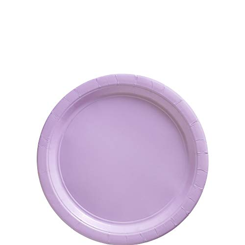 (Lavender Big Party Pack Paper Plates | 7