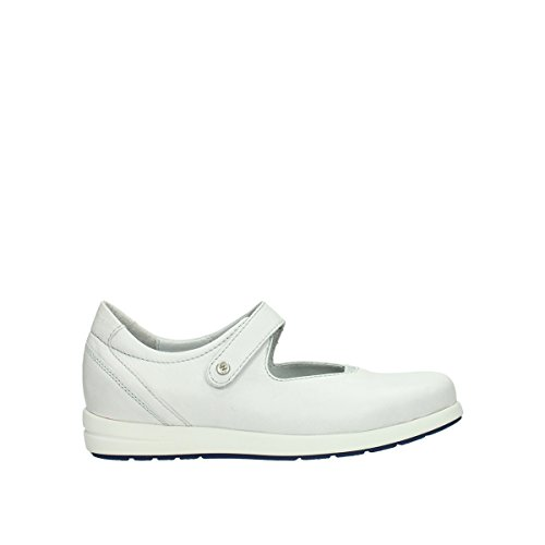 Leather 30120 Janes Electric Comfort Offwhite Wolky Mary nqYxwP6Ca