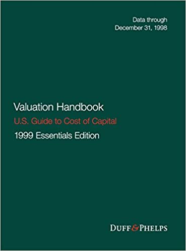 Amazon valuation handbook us guide to cost of capital valuation handbook us guide to cost of capital wiley finance 1st edition fandeluxe Gallery