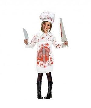 Partilandia Disfraz Zombie Cocinera para niña(2-4 años): Amazon.es ...
