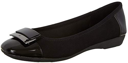 Anne Klein Women's, UNA Slip on Flats Black 7.5 M