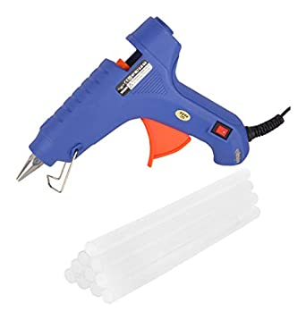 WADRO- Built with Passion 100W Temperature High Power Hot Melt Glue Gun With Sticks(10 Pcs) (NO LEAKAGE)