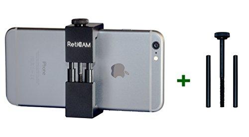 RetiCAM Smartphone Tripod Mount with XL Conversion Kit - Metal Universal Smart Phone Tripod Adapter - Standard Plus XL Conversion Kit by RetiCAM