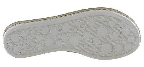 INBLU Women's Glamour Ankle Strap Sandals Ba010 Black l5zp4