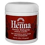 Rainbow Research Persian Mahogany Henna, 4 Ounce - 6 per case.