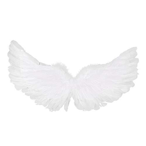 TiaoBug Girls Angel Costume Cosplay Wings for Christmas Nativity Panto Fancy Dress Kids Child Type B Medium