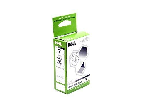 New Genuine Dell 7 Series 966 968 968w Single Unit Black Ink Cartridge PK177 0PK177 CN-0PK177 ()