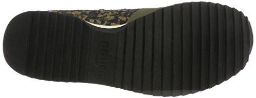 Blauer USA New Runnin - Zapatillas Hombre Grün (Tarmac Camuflage)