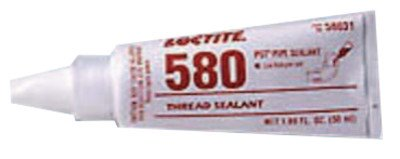 580 PST Low Halogen Low Sulfur Thread Sealant, White, 50mL Tube