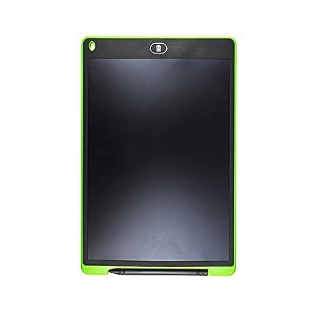 Tablette Num/érique avec Stylet Portable Tablette Graphique Dessin et Ecriture Ardoise Magique Rouge 12 Pouces 28cm Mustdunet Tablette Ecriture LCD