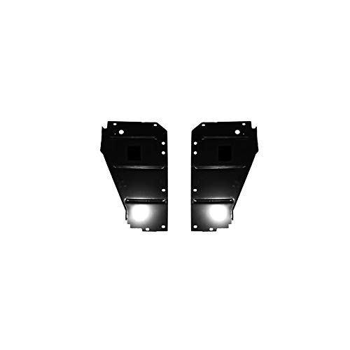 - Eckler's Premier Quality Products 57-135113 Chevy Radiator Core Support Filler Panels,
