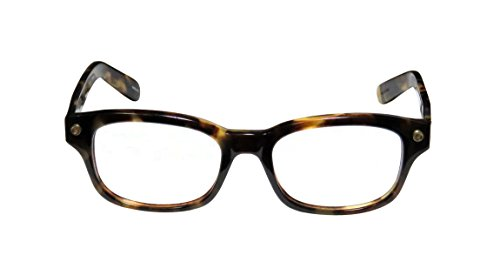 Elizabeth And James Beacom WomensLadies Prescription Ready Durable Designer Full-rim EyeglassesEye Glasses (50-18-145 Tortoise Pattern)