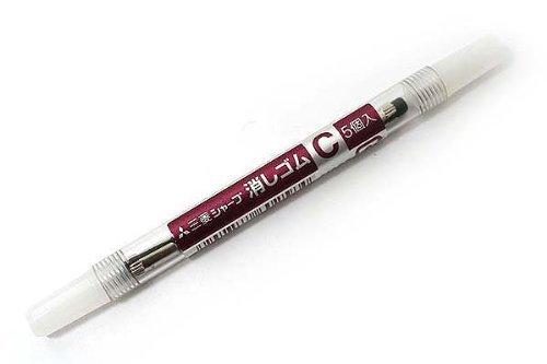 uni-mechanical-pencil-eraser-refill-c-skc-2piece