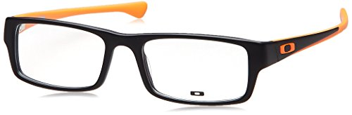 Eyeglass Frame Uae : Oakley Tailspin OX1099-0553 Eyeglass Satin Black Orange ...