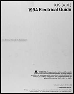 1994 jaguar xjs 4.0l electrical guide wiring diagram original: jaguar:  amazon.com: books  amazon.com