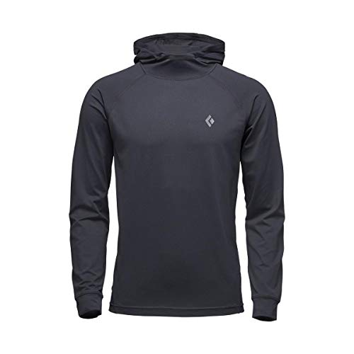 - Black Diamond Long Sleeve Alpenglow Hoody - Men's, Black, Medium, AP7520200002MED1