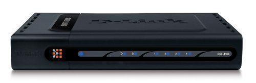 D-link dgl-4100 4-port gamerlounge broadband gigabit gaming router.
