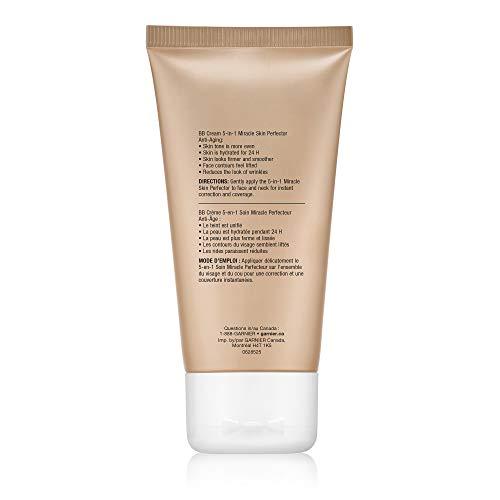 317epBS37zL - Garnier SkinActive BB Cream Anti-Aging Face Moisturizer, Light/Medium, 2.5 Ounce