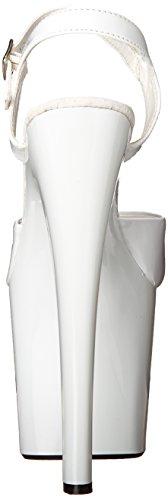 51 Patent 6 Heel Inch Fantasy Women's Platform White Sandal The Highest OgvHqIWwwf
