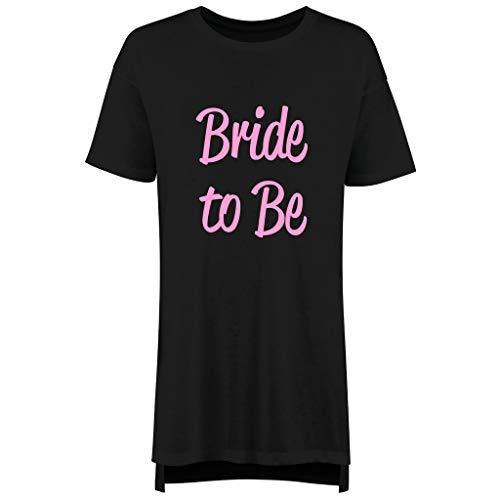 To Femmes Pyjama Ami Nuisette Makeover Nuit 60 Jeune Limited Bride Fille Miel Enterrement Chemise Noir Be Vie Lune Slogan De Second Mariage xUI0T0qY