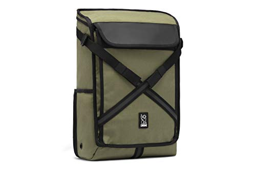 Chrome Industries Echo Bravo Laptop Backpack Commuter Pack 20 Liter Olive (Best Commuter Backpack 2019)