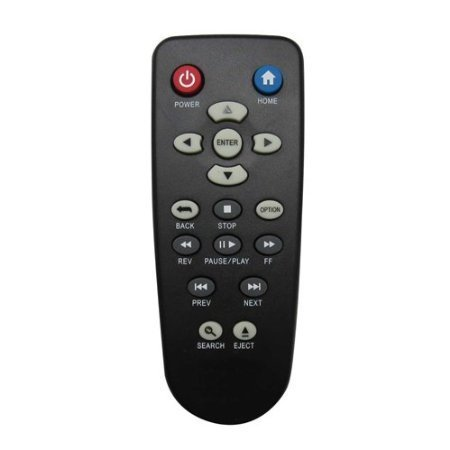 Nettech WD remote 2 New Replacement Remote Control Fit for WD Western Digital WDTV Live TV Plus Mini HD Hub Media Player WDTV001RNN