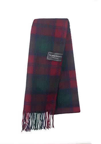 The Tartan Blanket Co. Lambswool Scarf Lindsay Tartan