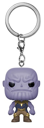 Funko Pop Keychain Marvel: Avengers Infinity War-Thanos Collectible Figure, Multicolor