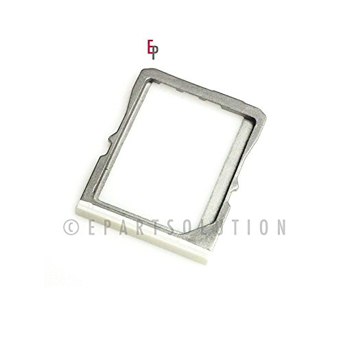 ePartSolution-HTC One M7 SIM Card Tray Holder Slot White Replacement Part USA Seller (Htc One Sim Card Tray)