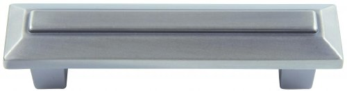 Atlas Homewares 241-P 4-Inch The Classics Collection Trocadero Beveled Pull, Pewter
