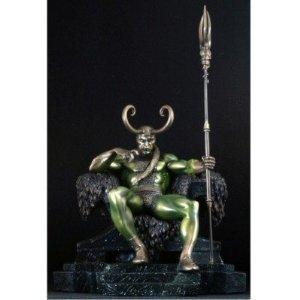 Bowen Exclusive Faux Bronze Loki Statue by Bowen Designs