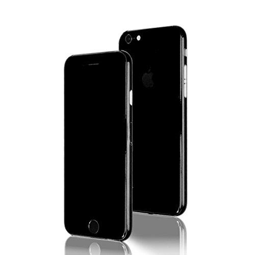 AppSkins Folien-Set iPhone 6s Full Cover - Brilliant Diamantschwarz/ jet black