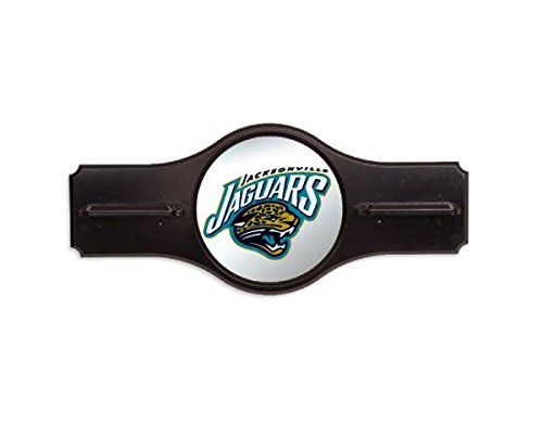 NFL Jacksonville Jaguars Pool Billiard Mirrored Wall Cue Rack by Imperial