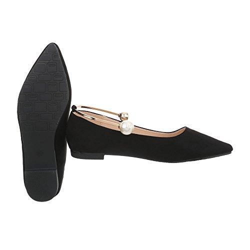 Flats Black XQ55067 at Design Ital Block Women's Heel Flats Ballet Classic Ballet v8x4fvwqB