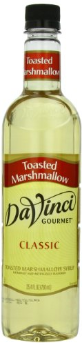 DaVinci Gourmet Classic Syrup, Toasted Marshmallow, 25.4-Ounce Bottles (Pack of 3)