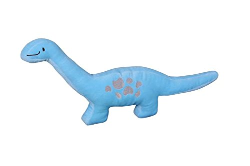 Golden Linens Reversible 6 Pieces Twin Size Printed Blue and Lime Green Dinosaur Microfiber Kids Comforter With sheets