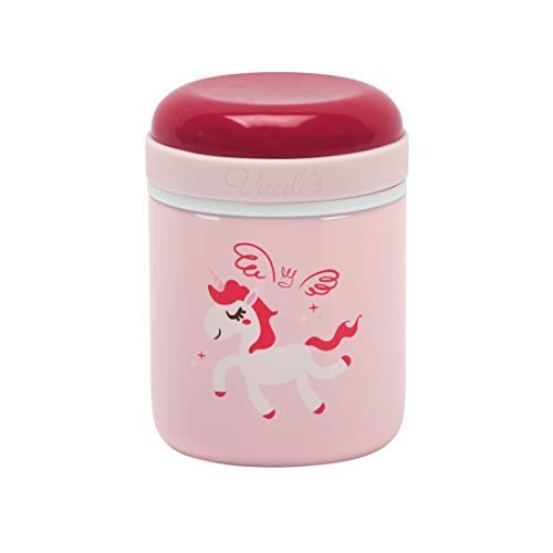 Vanli's Stainless Steel Thermos Food Jar 10 oz| Leak-Proof Thermos for Kids | Vacuum-Insulated to Keep Food Hot or Cold for Several Hours | Travel-Friendly Container BPA Free | Pink Unicorn