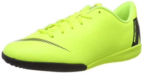 NIKE Youth Soccer Mercurial VaporX 12 Academy Indoor Shoes (5 M US Big Kid)