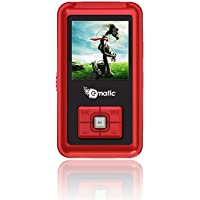 MP3 Player, Ematic 1.5-Inch 2GB Red MP3 Video Player [ EM102VIDR ]