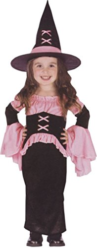[Morris Costumes Witch Pretty Pink Toddler Smal] (Witch Pretty Pink Toddler Costumes)