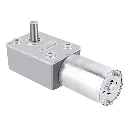 DC 12V Reversible High Torque Turbo Worm Gear Box Reduction Electric Motor(40RPM)
