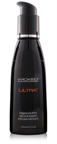 Wicked Sensual Care Wicked Ultra Silicone Lubricant Unscented 4 Ounce