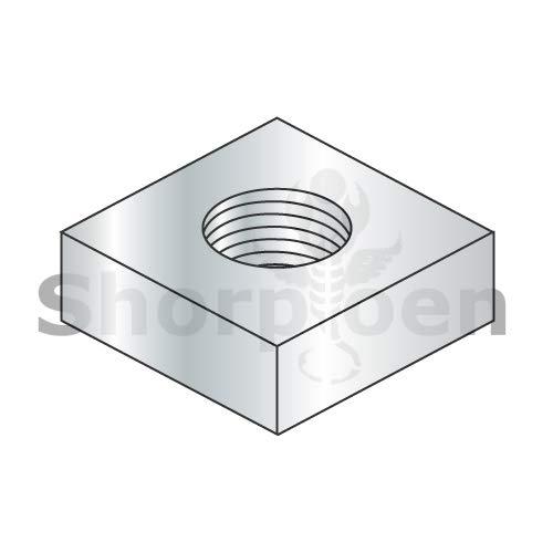 Square Machine Screw Nut Zinc 12-24 BC-12NQ Box of 3000 Weight 20.7 Lbs