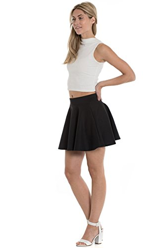 Marc Skirt Olivier Black Skater Mini Women's Y4qTHxwYr