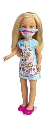 Nancy Un día con mascarilla muñeca para niñas con mascarilla