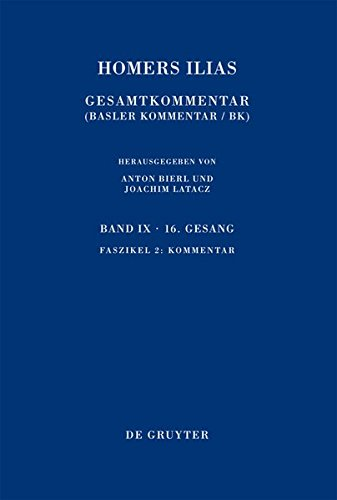 9: Kommentar (Sammlung Wissenschaftlicher Commentare) (German Edition) (Multilingual Edition) by De Gruyter