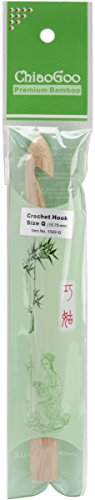 ChiaoGoo Bamboo Crochet Hook 15 75mm