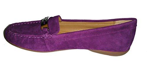 Entraîneur Olympia Daim Mocassins Chaussures 7 M