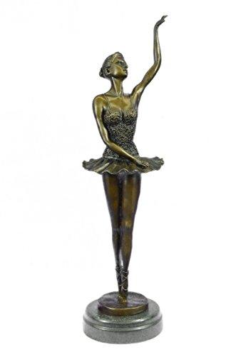 Handmade European Bronze Sculpture BLACK SWAN MOVIE BARBIE BALLERINA doll FIGURE FIGURINE Bronze Statue -JPYRD-015-Decor Collectible Gift